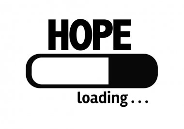 Bar Loading with the text: Hope