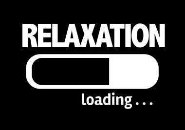 Bar Loading with the text: Relaxation