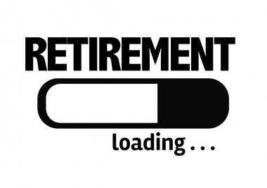 Bar Loading with the text: Retirement