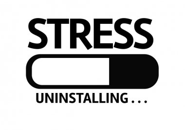 Bar Uninstalling with the text: Stress
