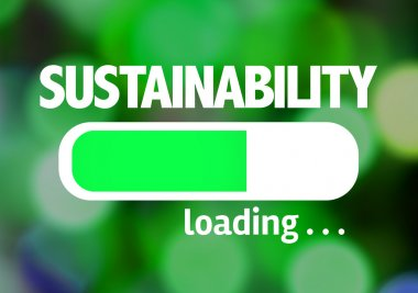 Bar Loading with the text: Sustainability