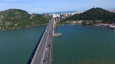Aerial View of Third bridge in Vitoria