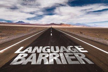 Language Barrier on desert road