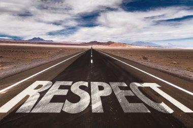 Respect  on desert road