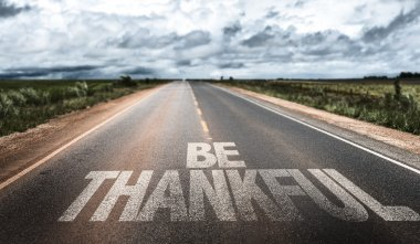 Be Thankful on rural road