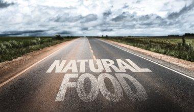 Natural Food  on rural road