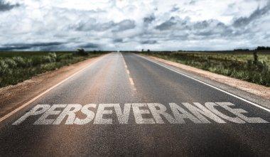 Perseverance on rural road