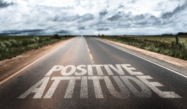 Positive Attitude on rural road