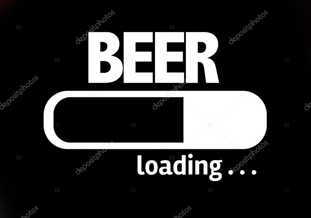 Bar Loading With The Text Beer Stock Photo Gustavofrazao 84021428