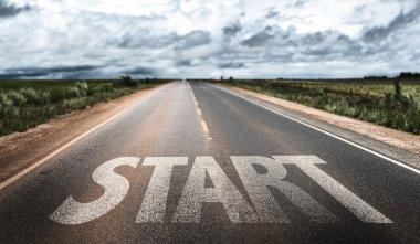 Start on rural road