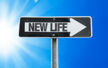 New Life direction sign