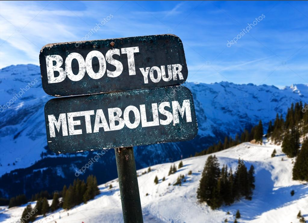 Boost Your Metabolism sign