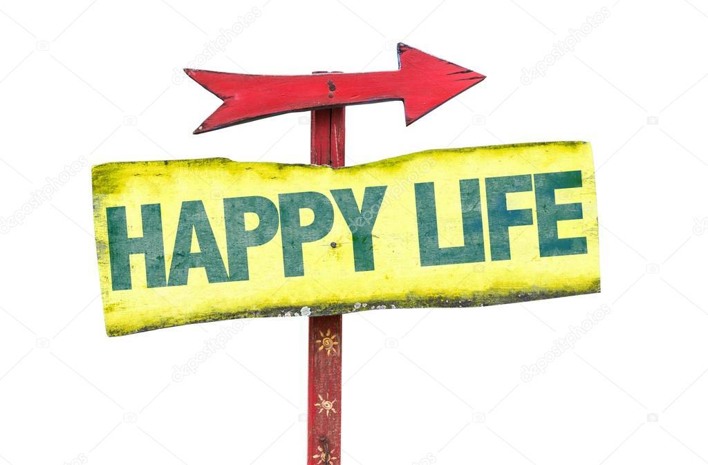 happy life sign stock photo gustavofrazao 84031366