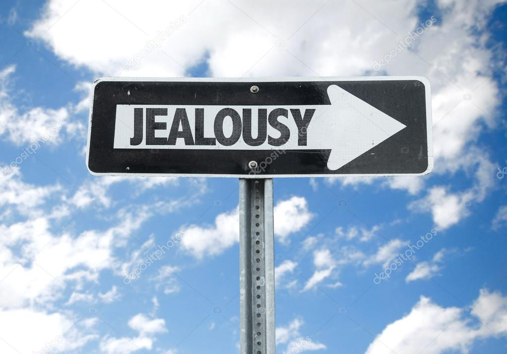 Jealousy direction sign