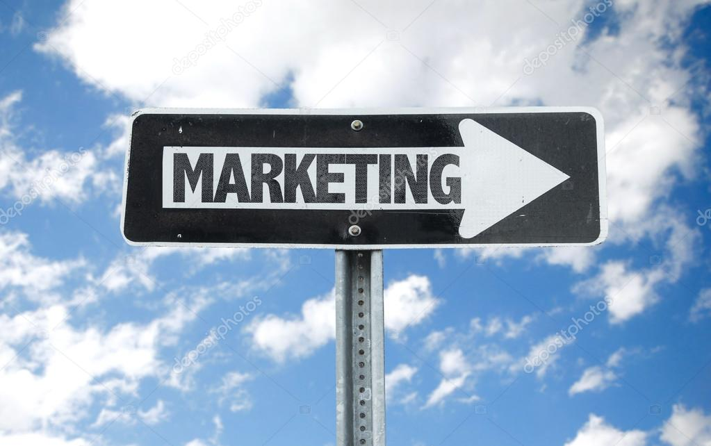Marketing direction sign