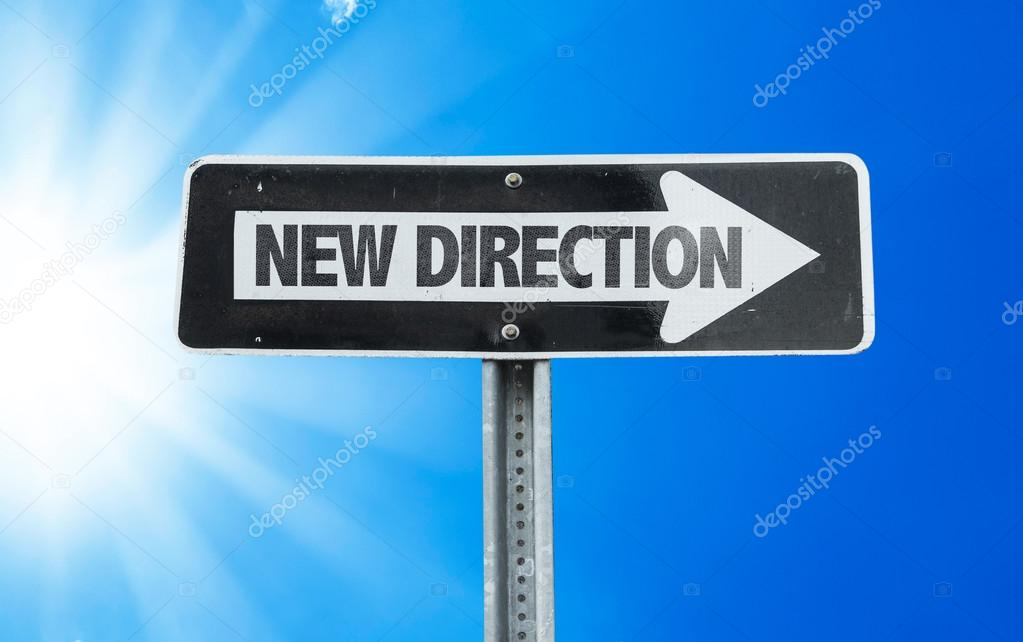 New Direction direction sign