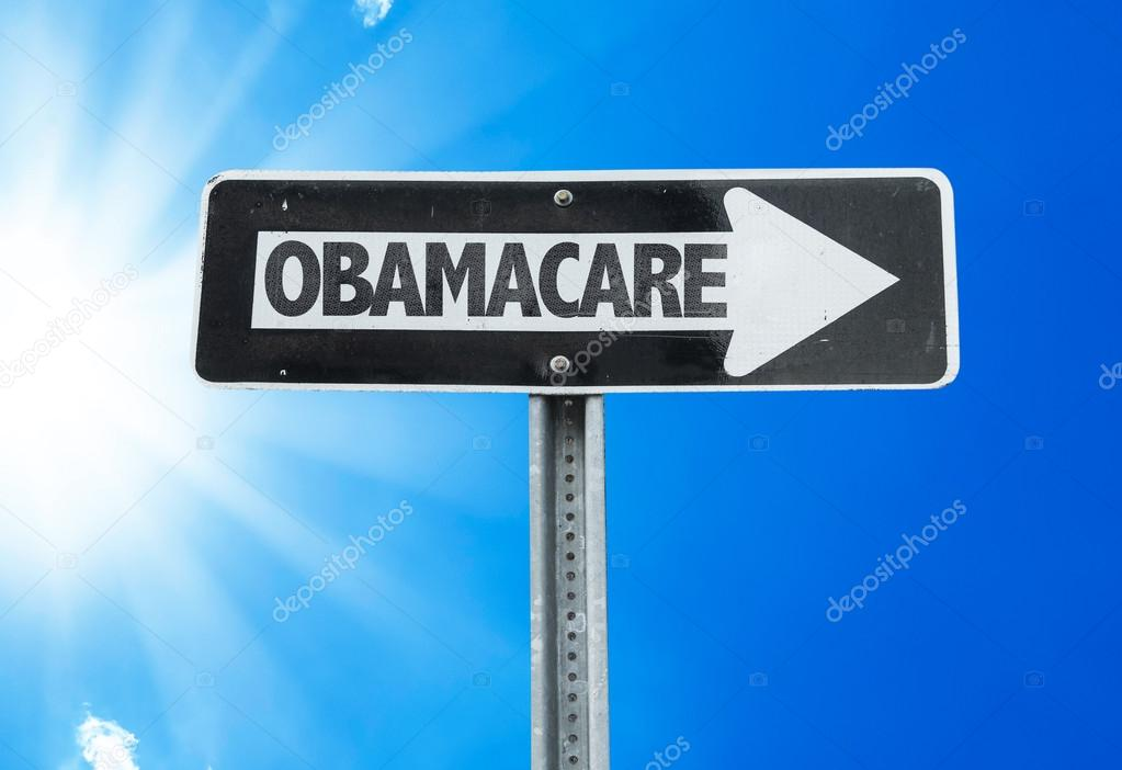 Obamacare direction sign