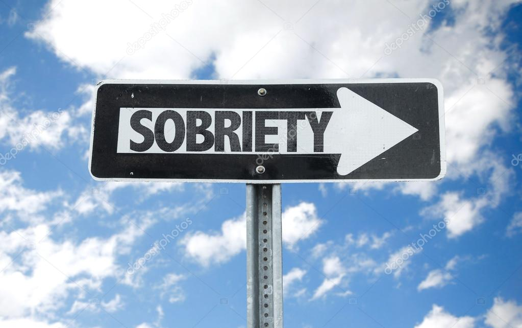 Sobriety direction sign