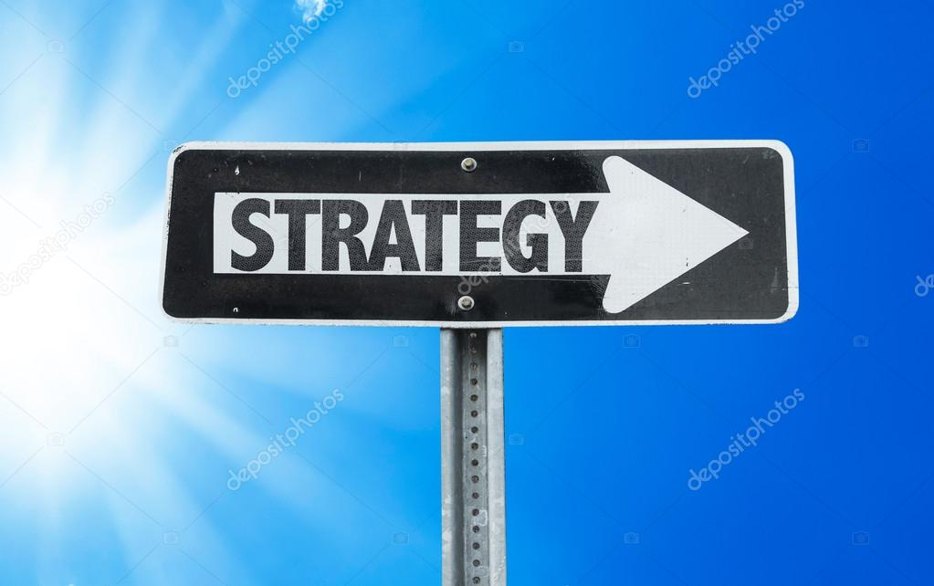 Strategy direction sign