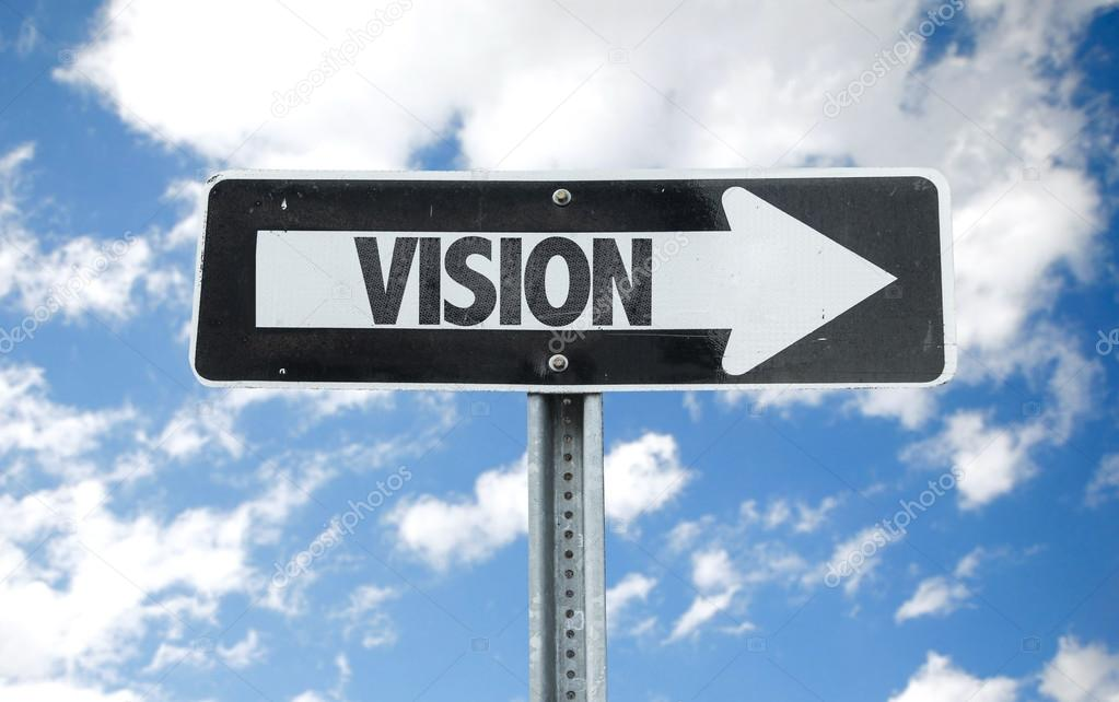 Vision direction sign