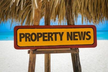 Property News sign