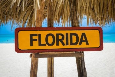 Florida text sign