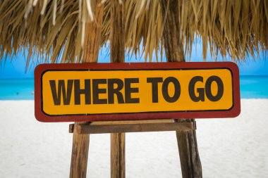 Where To Go sign