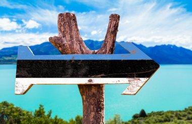 Estonia Flag wooden sign