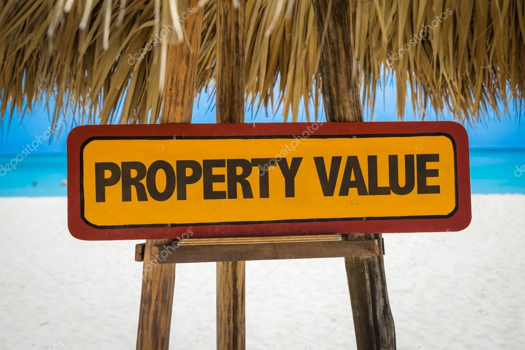 Property Value sign