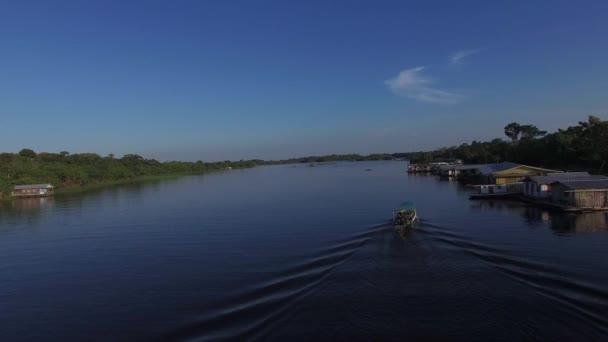 Boat on Amazon River, Manaus