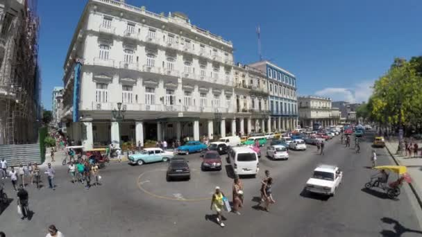 Driving in Old Havana, Cuba