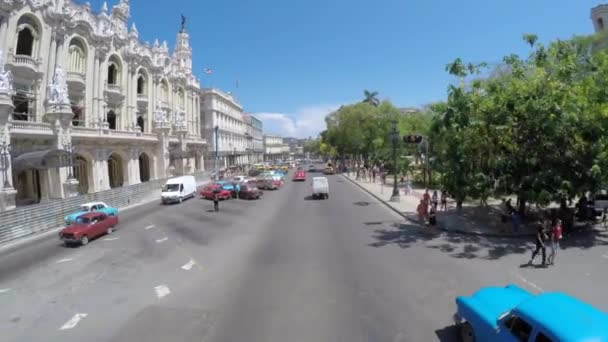 Driving in Old Havana, Cuba