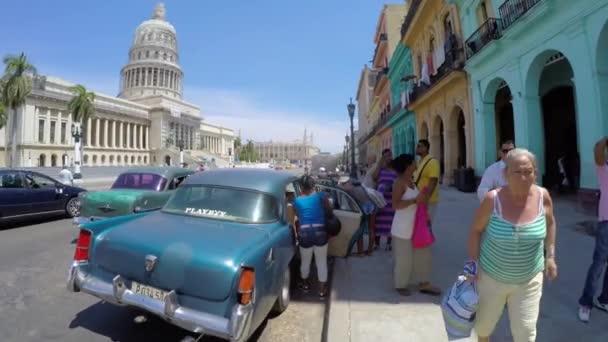 Streets in Old Havana, Cuba