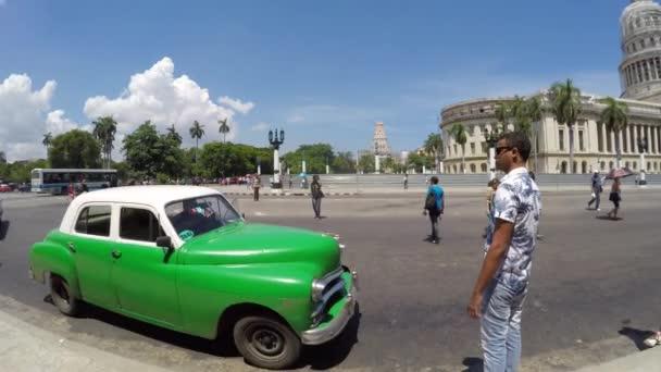 Ulice ve starých Havana, Kuba