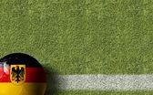 Germany flag on Ball