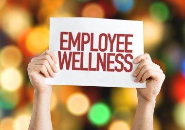 Employee wellness placard