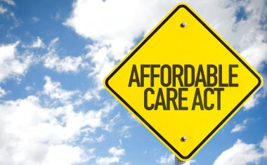 Affordable Care Act sign