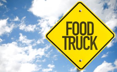 Food Truck sign