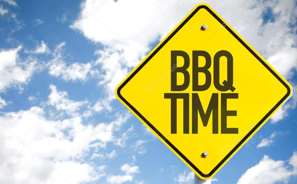 BBQ Time sign