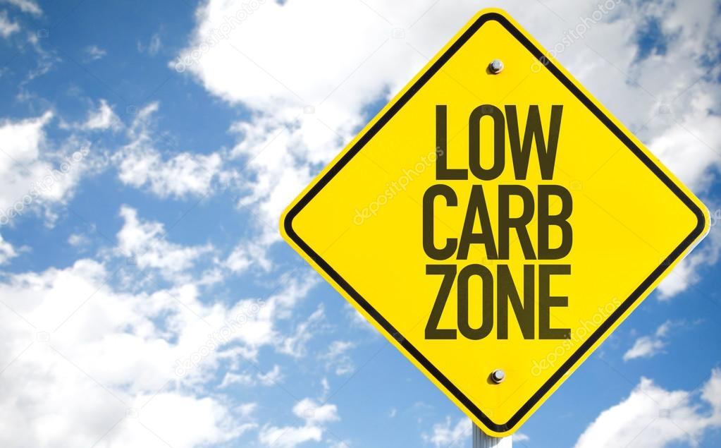 Low Carb Zone sign
