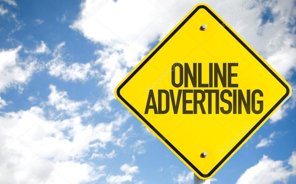 Online Advertising sign