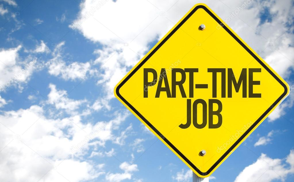 Part-Time Job sign
