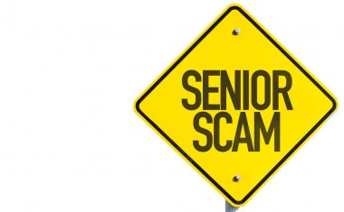 Senior Scam sign