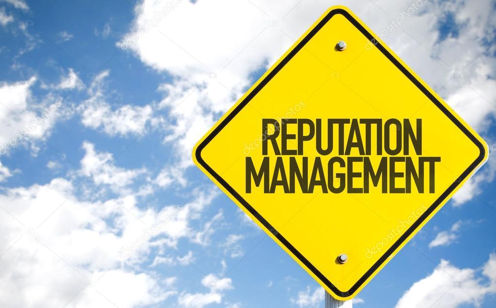 Reputation Management sign