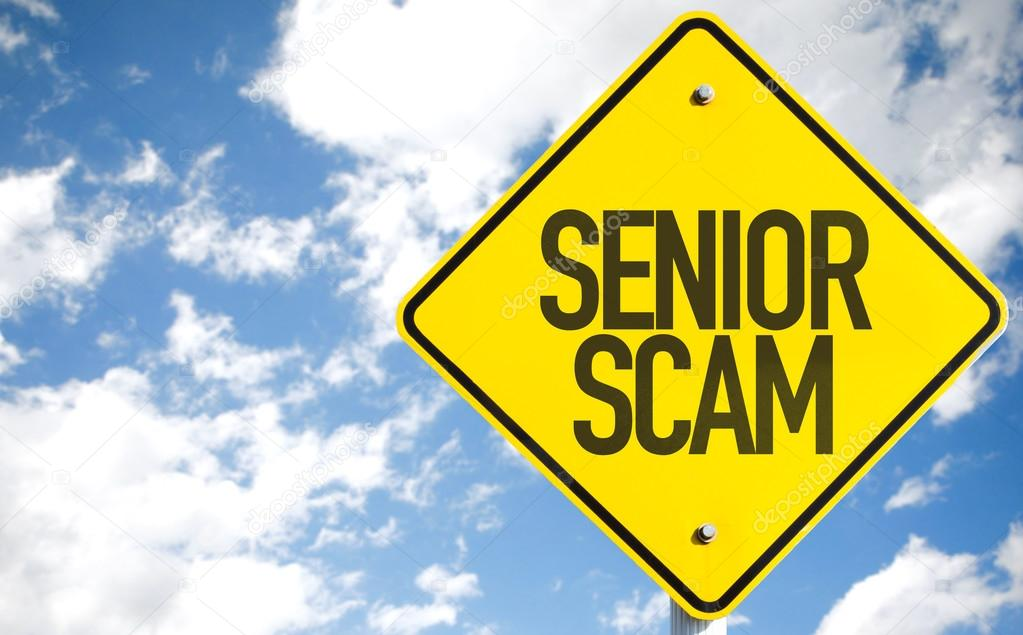 Senior Scam sign