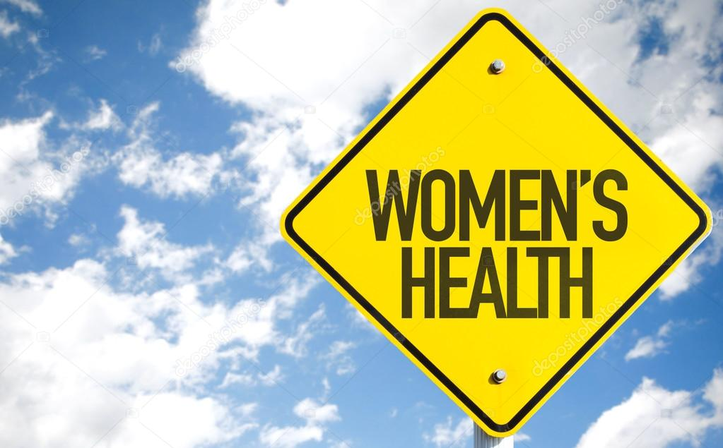 Womens Health sign