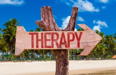Therapy wooden arrow