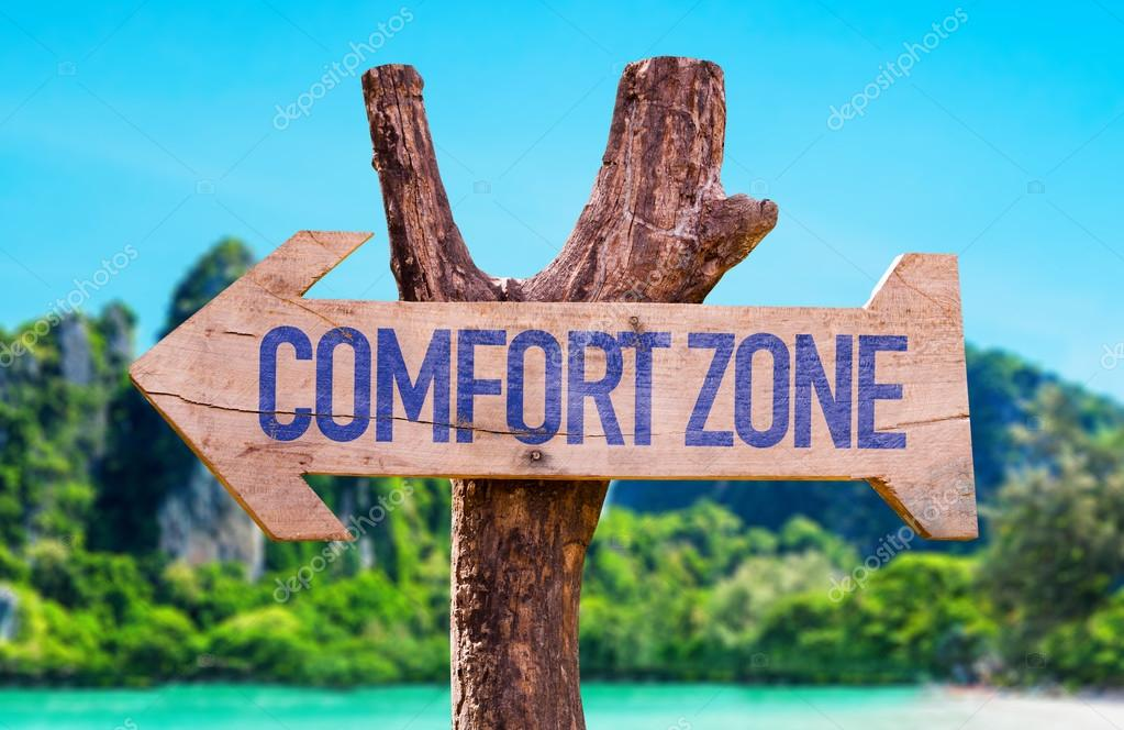 Comfort Zone arrow
