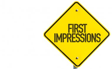 First Impressions sign