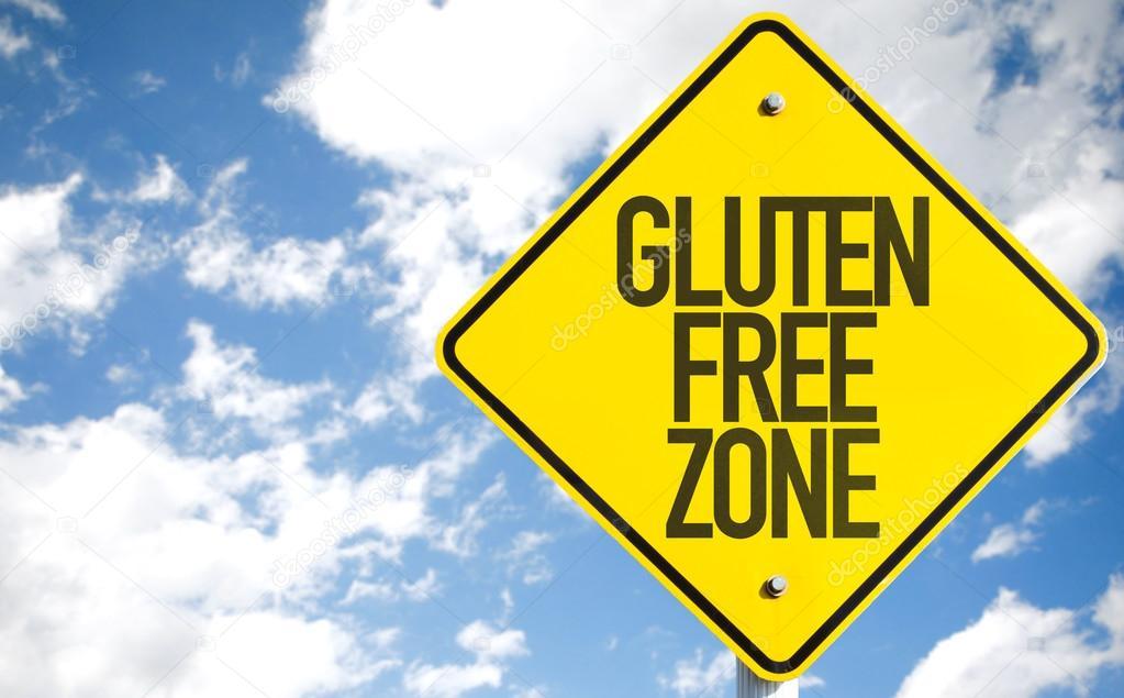 Gluten Free Zone sign